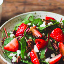 NJBC Summertime Recipes: Dr. Goyal's Strawberry Summer Salad
