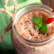 NJBC Eats: Holiday Chocolate Peppermint Protein Shake
