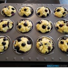 NJBC Eats: Low-Carb Blueberry Muffins