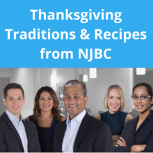 Thanksgiving Traditions and Recipes from NJBC