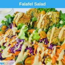 What Am I Eating? Falafel Salad