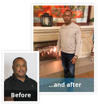 Orville Lost 80 Lbs.*